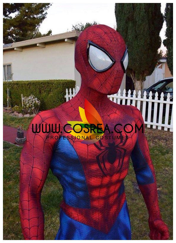 Spiderman Gradient Digital Printed Cosplay Costume - Cosrea Cosplay