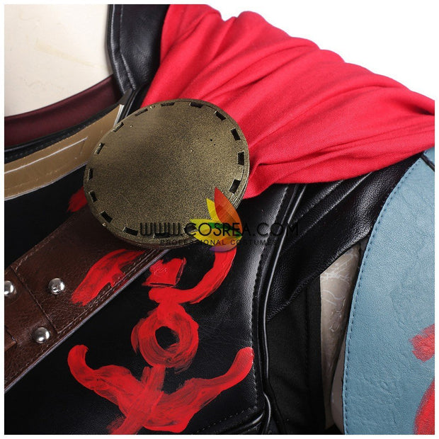 Thor Sakaar Arena PU Leather Cosplay Costume - Cosrea Cosplay