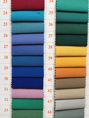 Multicolor Cotton Uniform Fabric