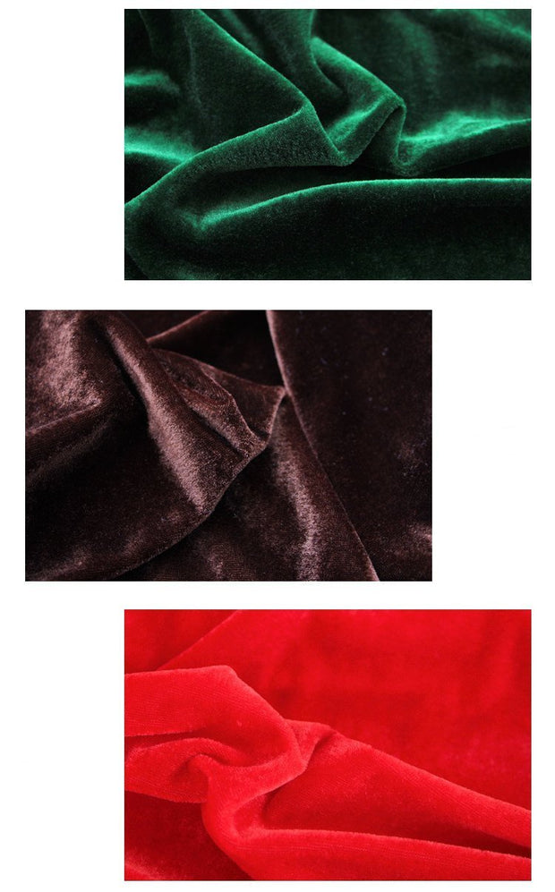 Smooth Light Weight Velvet Fabric - Cosrea Cosplay