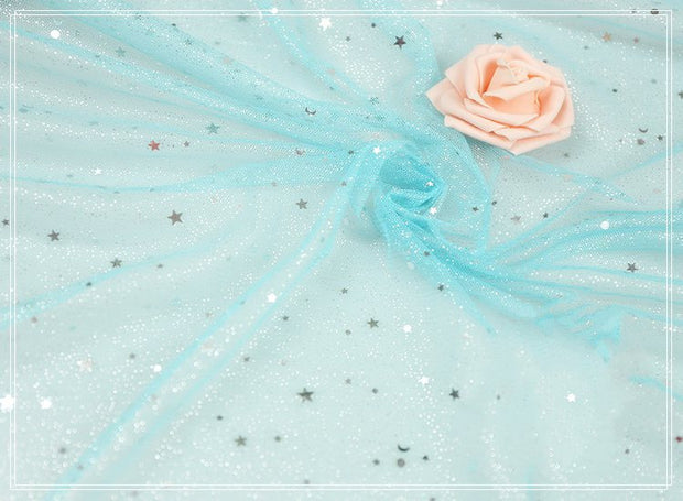 Starry Glitter Organza Material - Cosrea Cosplay
