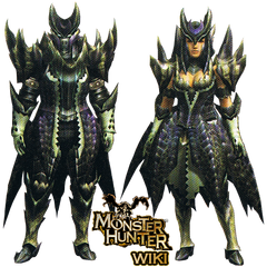 Cosrea Custom Monster Hunter Alatreon Costume Set - Cosrea Cosplay