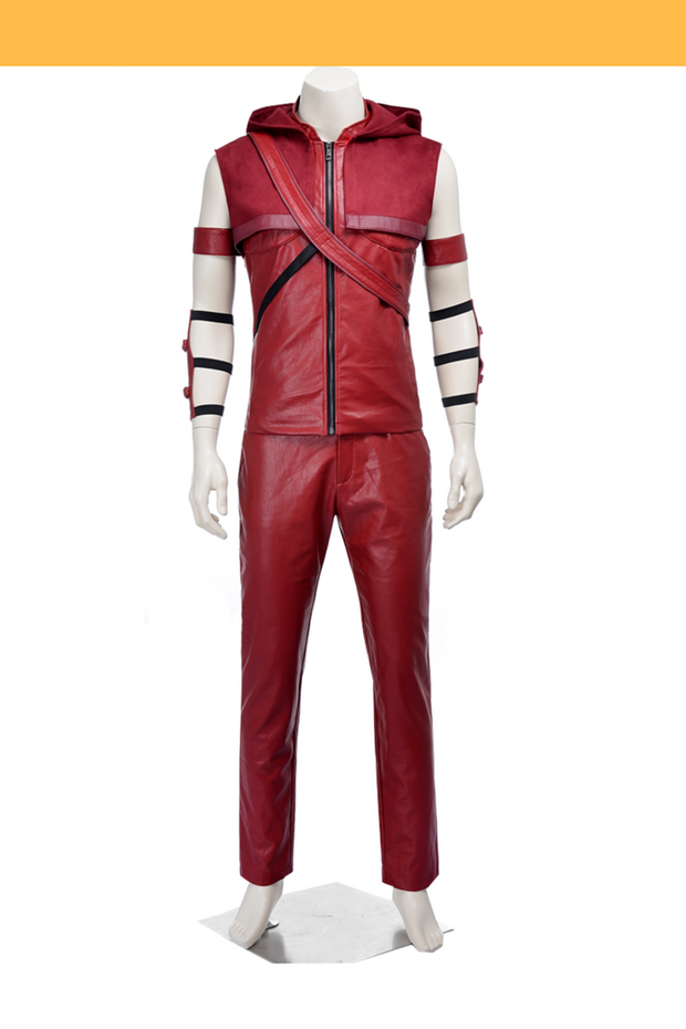 Cosrea DC Universe Arsenal Roy Harper Season 2 Cosplay Costume
