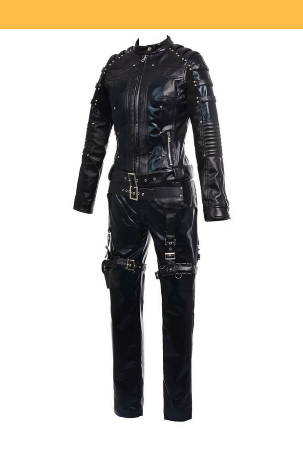 Cosrea DC Universe Black Canary Sara Lance Cosplay Costume