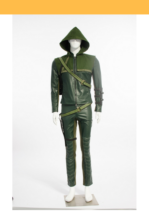 Cosrea DC Universe Green Arrow Season 1 Cosplay Costume