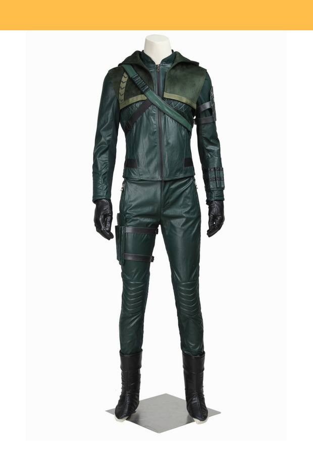 Cosrea DC Universe Green Arrow Season 3 Cosplay Costume