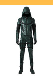 Cosrea DC Universe Green Arrow Season 5 Cosplay Costume