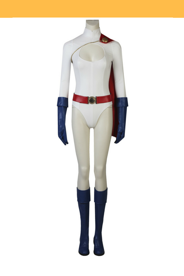 Power Girl Cosplay Costume