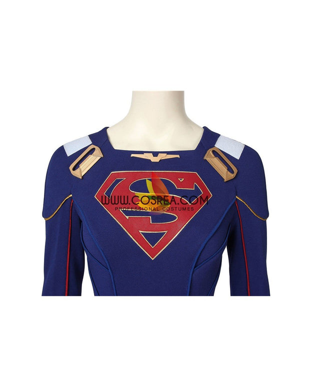 Cosrea DC Universe Supergirl Season 5 Cosplay Costume