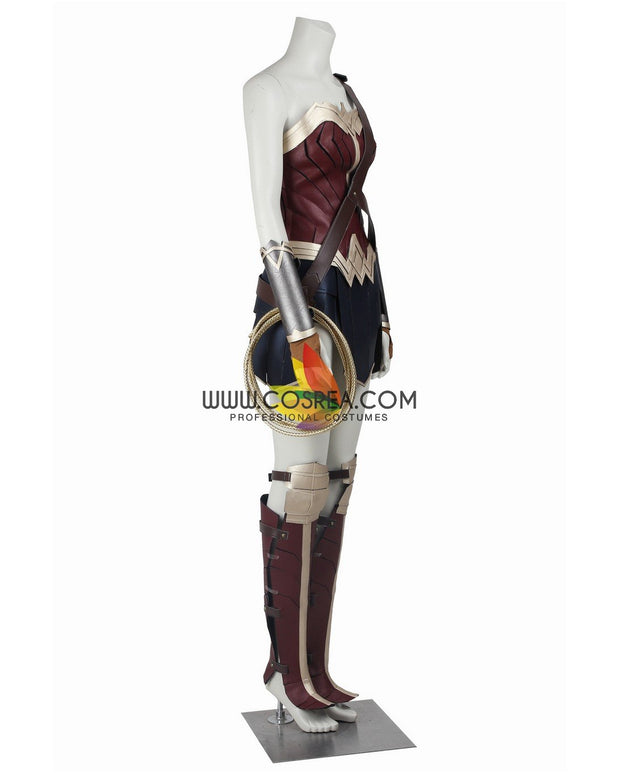 Cosrea DC Universe Wonder Woman Justice League Cosplay Costume
