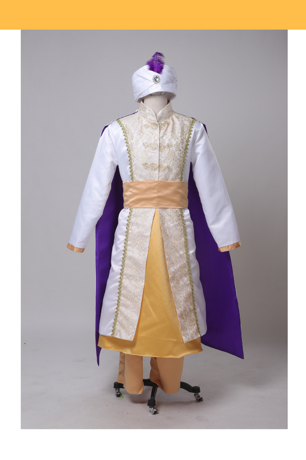 Prince Ali Brocade Satin Cosplay Costume - Cosrea Cosplay