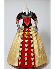 Alice In The Wonderland Red Queen Cosplay Costume - Cosrea Cosplay