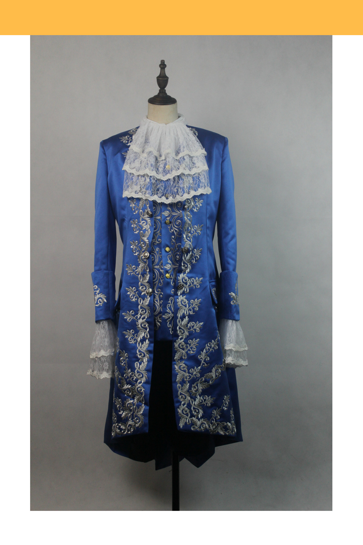 Beauty And Beast 2017 Prince Embroidered Cosplay Costume