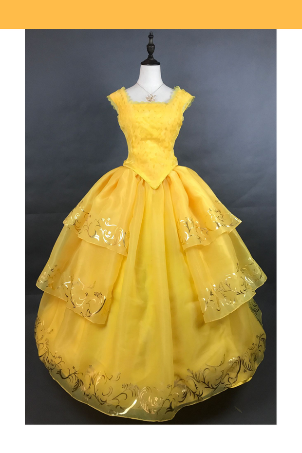 Cosrea Disney Beauty And Beast 2017 Princess Belle Classic Cosplay Costume