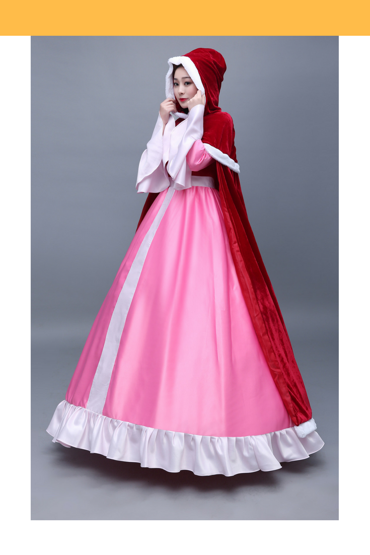 Beauty And Beast Classic Belle Winter Cosplay Costume