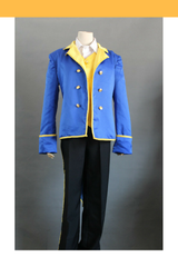 Beauty And Beast Classic Prince Light Blue Cosplay Costume