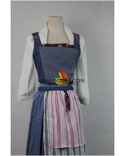 Cosrea Disney Beauty And Beast Live Action Belle's Peasant Cosplay Costume