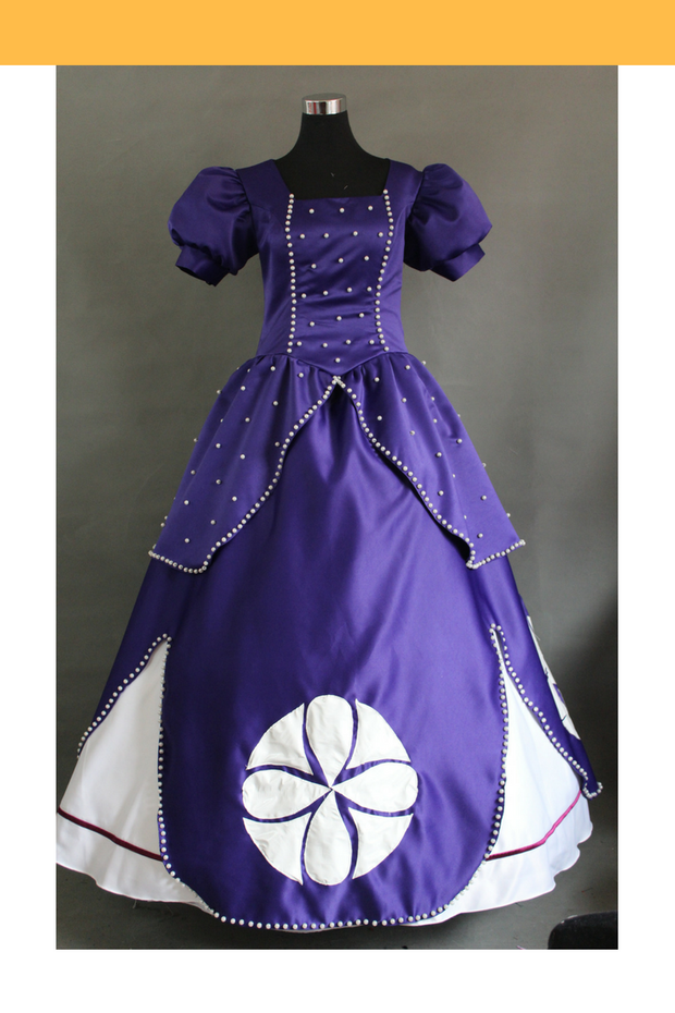 Cosrea Disney First Princess Sofia Classic Midnight Purple Cosplay Costume
