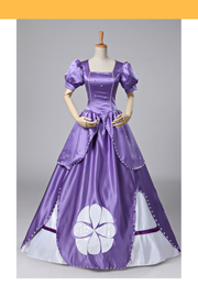 Cosrea Disney First Princess Sofia Classic Royal Purple Cosplay Costume