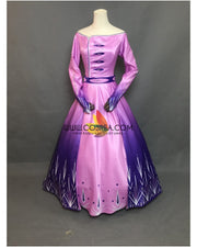 Cosrea Disney Frozen 2 Elsa Formal Attire In Gradient Cosplay Costume