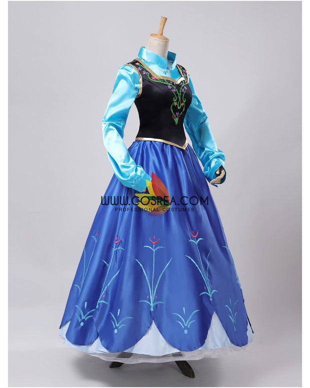 Cosrea Disney Frozen Anna Winter Outfit Cosplay Costume