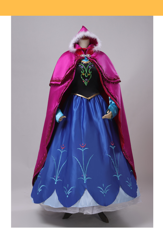 Frozen Anna Winter Outfit Cosplay Costume - Cosrea Cosplay