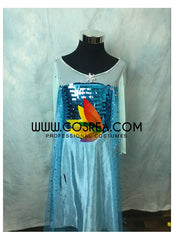 Girls Frozen Elsa Ice Queen Cosplay Costume