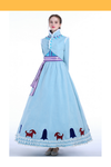 Cosrea Disney Frozen Olaf's Adventure Anna Winter Cosplay Costume