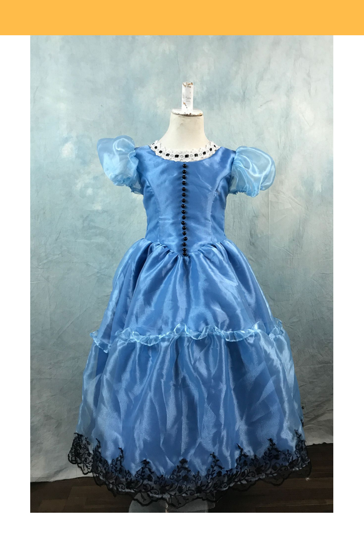 Girls Alice In The Wonderland Cosplay Costume