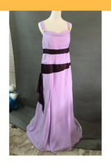 Hercules Megara Lilac Purple Cosplay Costume