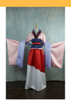 Cosrea Disney Mulan Satin Cosplay Costume