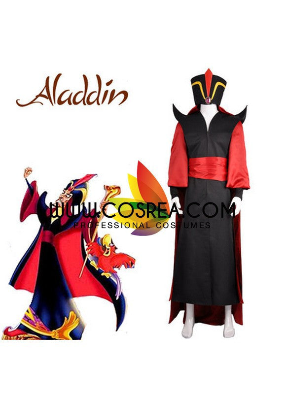 Cosrea Disney No Option Aladdin Jafar Complete Cosplay Costume