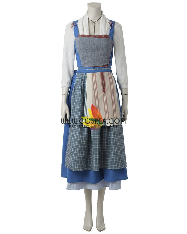 Cosrea Disney No Option Beauty And Beast 2017 Belle Peasant Cosplay Costume