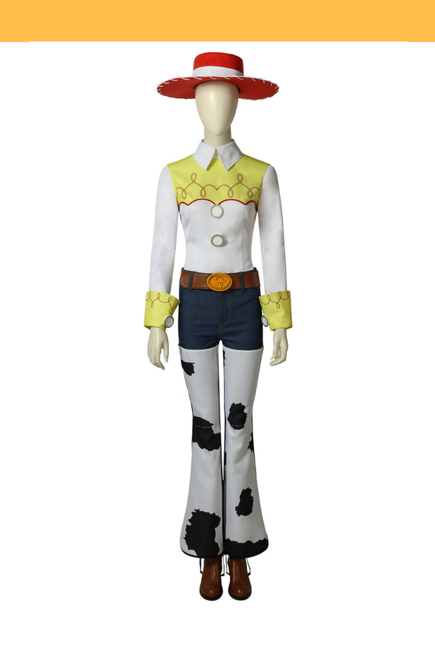 Cosrea Disney No Option Costume Only Toy Story Jessie Cosplay Costume