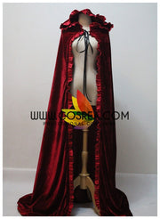 Disney Dark Red Velvet Cape - Cosrea Cosplay