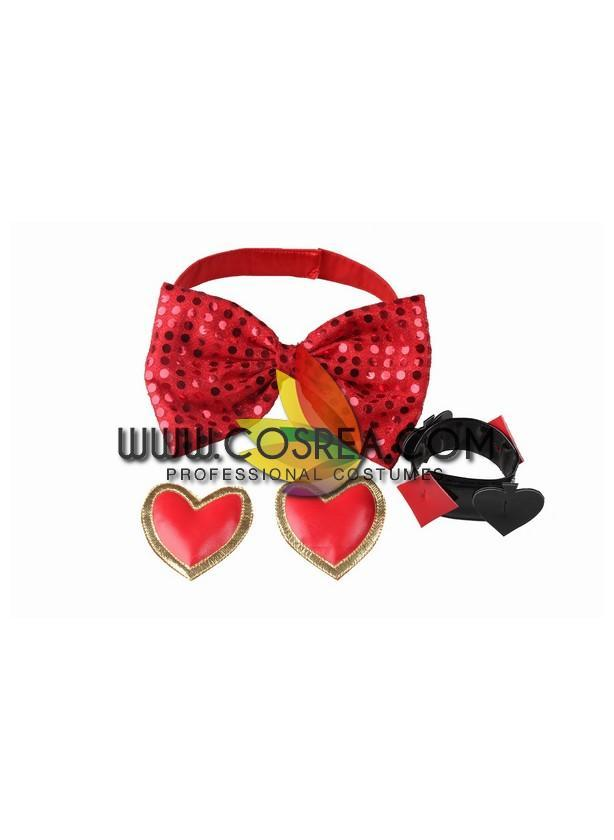 Disney TDL Red Hearts Parade Cosplay Costume - Cosrea Cosplay