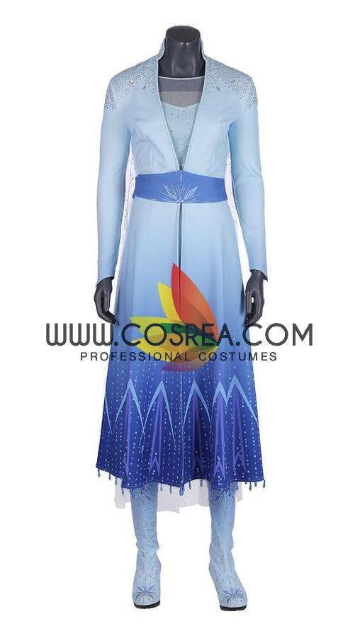 Frozen 2 Elsa Gradient With Custom Sizing Option Cosplay Costume