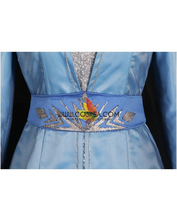 Cosrea Disney No Option Frozen 2 Elsa High Detail Embroidered Cosplay Costume