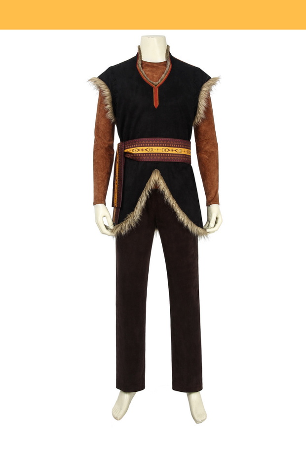 Cosrea Disney No Option Frozen 2 Kristoff Cosplay Costume