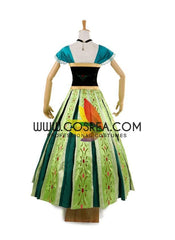 Frozen Anna Coronation Classic Cosplay Costume