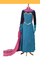 Frozen Elsa Coronation Classic Printed Cosplay Costume