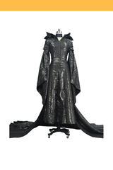 Maleficent Textured Fabric Cosplay Costume - Cosrea Cosplay