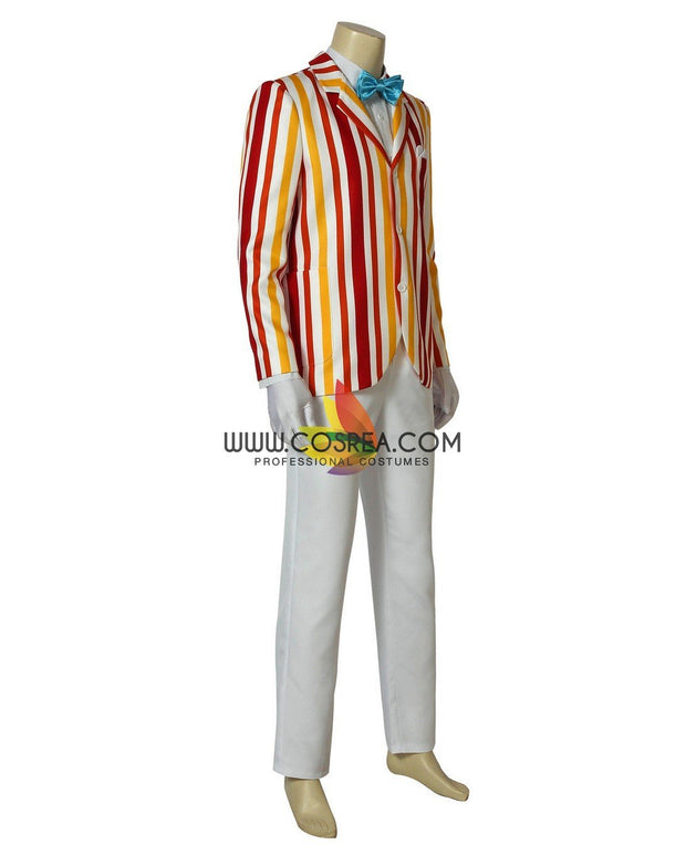Cosrea Disney No Option Mary Poppins Classic Bert Cosplay Costume