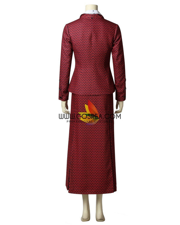 Cosrea Disney No Option Mary Poppins Returns Belle Tiered Cosplay Costume
