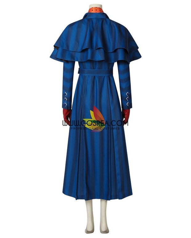 Cosrea Disney No Option Mary Poppins Returns Navy Blue Uniformed Cosplay Costume