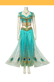 Princess Jasmine Complete Live Action Movie Cosplay Costume - Cosrea Cosplay