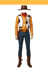 Toy Story Sheriff Woody Cosplay Costume