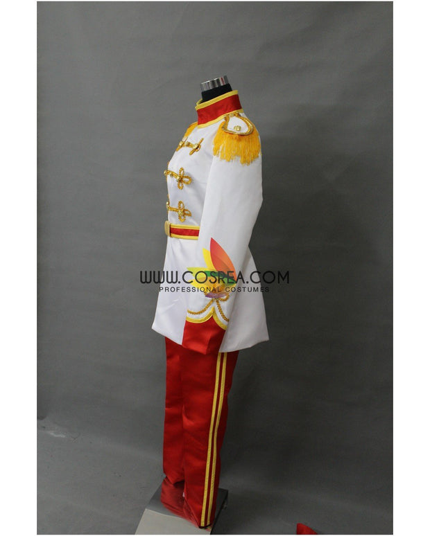 Cosrea Disney Prince Charming Classic Satin Cosplay Costume
