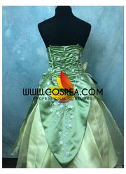 Girls Size Princess And The Frog Tiana Cosplay Costume - Cosrea Cosplay