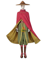 Cosrea Disney Raya And The Last Dragon Linen Version Cosplay Costume